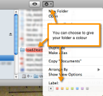 Pic detailing how to choose a colour for your files